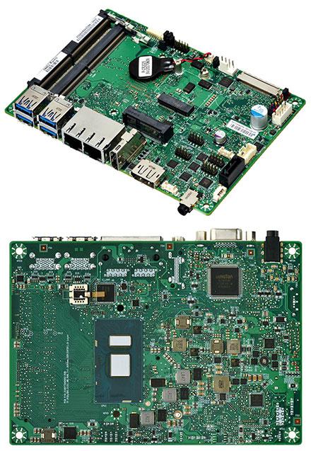 Mitac PD11KS 3.5-SBC (Intel Kaby Lake, i5-7300U, HDMI+dP)